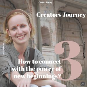 How to connect with the power of new beginning?